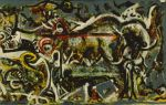 Описание картины джексона поллока «волчица»