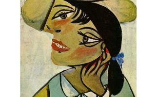 Описание картины пабло пикассо «портрет женщины»