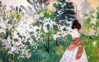 Описание картины виктора борисова-мусатова «весна»