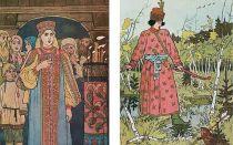 Иллюстрация к сказке «царевна-лягушка» работы ивана билибина (иван царевич и лягушка квакушка)