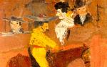 Описание картины пабло пикассо «пикадор»