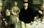 Описание картины эдуарда мане «завтрак в мастерской»