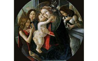 Описание картины сандро боттичелли «иоанн креститель»