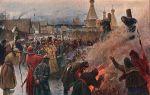 Описание картины григория мясоедова «сожжение протопопа аввакума»