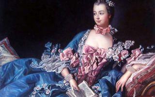 Описание картины франсуа буше «мадам де помпадур»