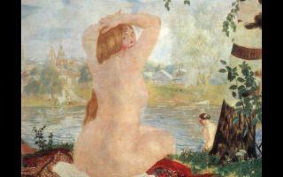 Описание картины бориса кустодиева «купальщицы»