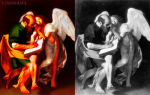 Описание картины микеланджело меризи да караваджо «святой матфей и ангел»