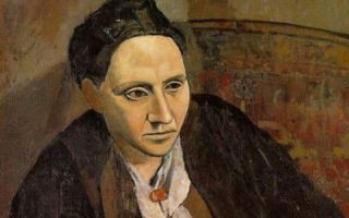 Описание картины пабло пикассо «портрет гертруды стайн»