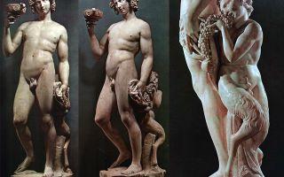 Описание скульптуры микеланджело буанарротти «вакх»