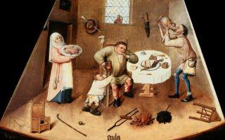 Описание картины иеронима босха «семь смертных грехов и четыре последние вещи»