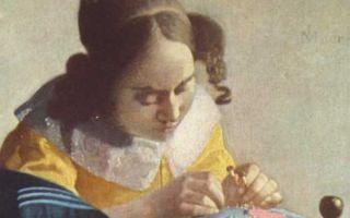 Описание картины яна вермеера «кружевница»