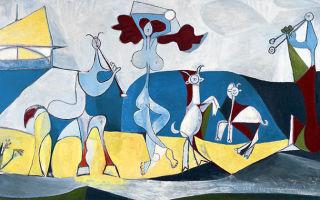 Описание картины пабло пикассо «жизнь»