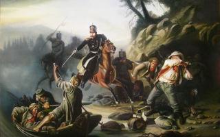 Описание картины василия худякова «стычка с финляндскими контрабандистами»
