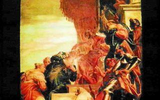 Описание картины паоло веронезе «триумф мардохея»