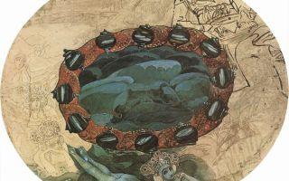 Описание картины михаила врубеля «садко на берегу ильмень-озера»