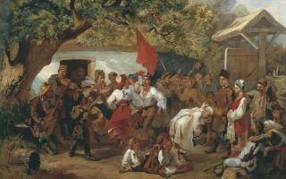 Описание картины ивана соколова «свадьба»