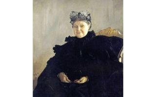 Описание картины валентина серова «портрет м. ф. морозовой»