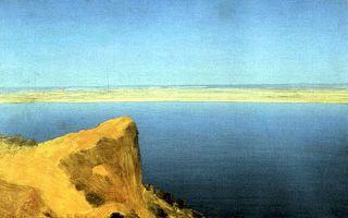 Описание картины архипа ивановича куинджи «волга»