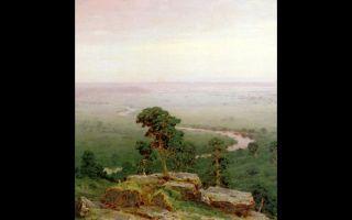 Описание картины архипа куинджи «север»