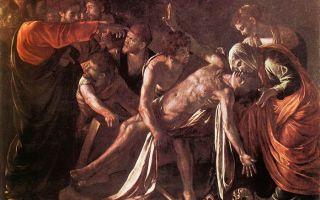 Описание картины микеланджело меризи да караваджо «воскрешение лазаря»