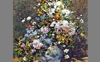 Описание картины пьера огюста ренуара «ваза с цветами» (весенний букет)