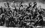 Описание картины микеланджело буанарроти «битва при кашине»