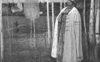 Описание картины михаила нестерова «дмитрий, царевич убиенный»