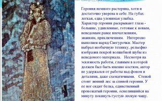 Описание картины михаила врубеля «снегурочка»