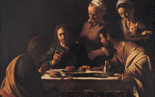 Описание картины микеланджело меризи да караваджо «ужин в эммаусе»