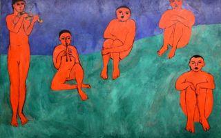 Описание картины анри матисса «автопортрет»