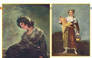 Описание картины франциско де гойя «молочница из бордо»