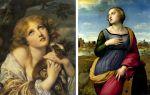 Описание картины санти рафаэля «святая катерина александрийская»