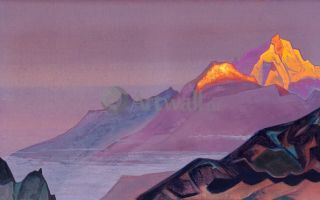 Описание картины николая рериха «путь в шамбалу»