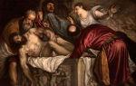 Описание картины тициана вечеллио «положение во гроб»