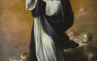 Описание картины бартоломе эстебано мурильо «непорочное зачатие»