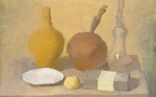 Описание картины джорджо моранди «натюрморт»