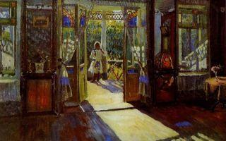 Описание картины сергея виноградова «в доме»