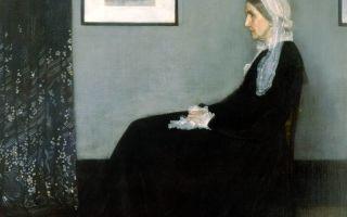 Описание картины джемса уистлера «портрет матери»