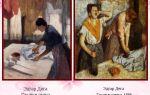 Описание картины эдгара дега «гладильщицы»