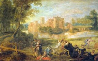 Описание картины питера рубенса «замок стен»