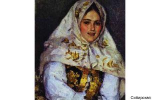 Описание картины василия ивановича сурикова «сибирская красавица (1891)»
