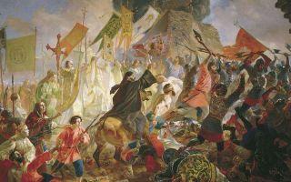 Описание картины карла брюллова «осада пскова»