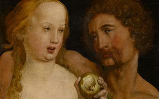 Описание картины рафаэля санти «адам и ева»