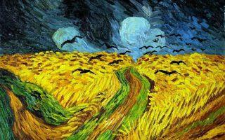 Описание картины винсента ван гога «вороны в пшеничном поле»