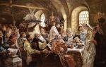 Описание картины константина маковского «боярский свадебный пир»